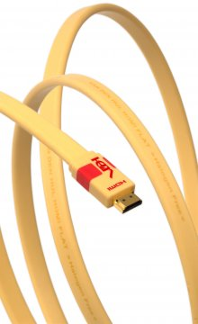 Cable de interconexión digital Van den Hul HDMI Flat